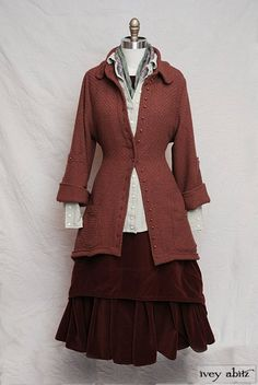 Fall Winter 2013 Look No. 27 | Vintage Inspired Women's Clothing - Ivey Abitz