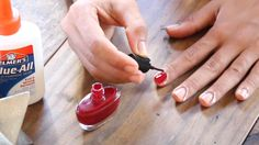 Get a clean, professional-looking manicure with this simple trick. This hack works for everyone!