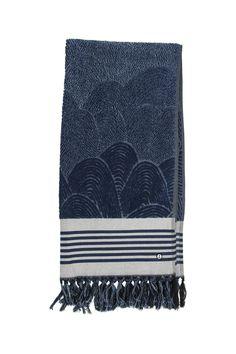 EM Towel Fishscale Blue