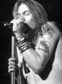 Axl Rose - Guns N' Roses