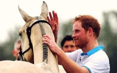 "born2stronger: ""Prince Harry at the Royal Salute Polo Cup 2016 """