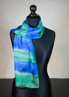 Silk Art, Silk Painting, Hand Painted, Fashion, Moda, Fashion Styles, Fashion Illustrations
