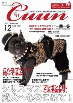 Cuun -Luxury Dog Apparel Magazine- 2010