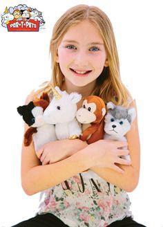 Par-T-Pets: Adorable & Affordable. Stuff your own Pet!