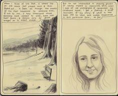 Moleskine Sketchbook Diary.  Copyright 2014 Nicky Nargesian.