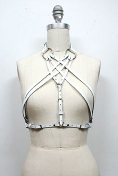 Zana Bayne Chevron Harness | $220