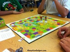 Blunder Board Game - an awesome activity to work on social skills! {theautismhelper.com}