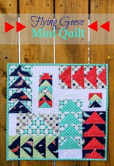 modern mini quilt patterns - Google Search