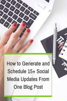 How to Generate and