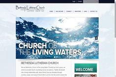 Congrats Bethesda Lutheran Church Ames, IA - Best Church Websites Award Winner! #ChurchWebsites #BestChurchWebsites