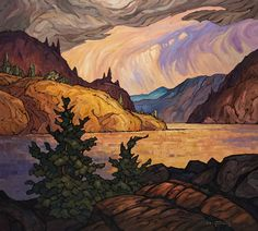 After the Storm - artwork by Phil Buytendorp Find available paintings, past sales and valuation information on the artist Philip Buytendorp from Fine Arts Toronto Gallery. Impressionist Landscape, Landscape Art, Landscape Paintings, Landscapes, Art Toronto, Canadian Art, Canadian Painters, Social Art, Witch Art