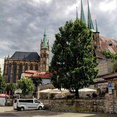 Dom und Severikirche #erfurt #altstadt