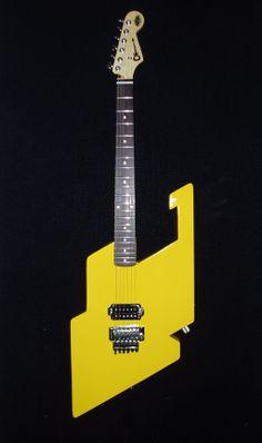 Stripes guitars van halen and eddie van halen eddie van halens charvel hydra sciox Gallery