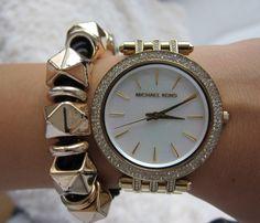 #Michael Kors  #mk Stylish Watches, Michael Kors Watch, Jewels, Accessories, Fashion, Jewelery, Moda, La Mode, Gemstones