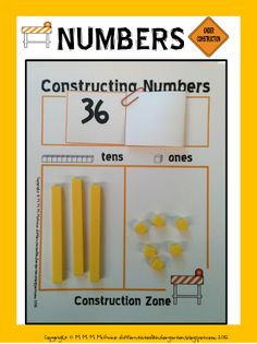 Constructing Numbers . . . An Independent Place Value Freebie! - Differentiated Kindergarten