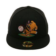3fcd99e736a Exclusive New Era 59Fifty Fresno Grizzlies 2003 Alternate Hat - Black