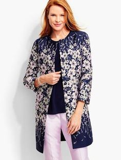 Shop Now - >  https://api.shopstyle.com/action/apiVisitRetailer?id=627783829&pid=uid6996-25233114-59 Mirrored-Floral Topper  ...