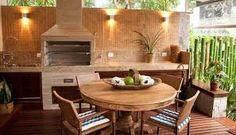 Resultado de imagem para area gourmet com sofa