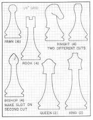 Resultado de imagen de diy giant chess pieces