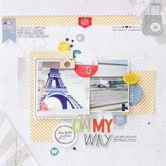 Janna Werner: DIY - scrapbooking page tutorial