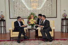 Trobada dels ministres Saboya i Camp al Consell Xinès pel Foment del Comerç Exterior 1