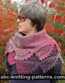 ABC Knitting Patterns - Crochet >> Shawls: 21 Free Patterns