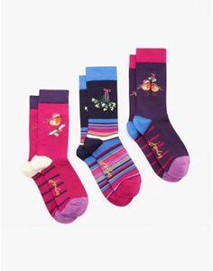 BRILLBAMSET 3 Pack Bamboo Ankle Socks