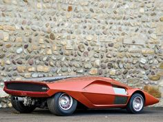 "fuckyeahconceptcarz: ""1970 Lancia Stratos Zero (Bertone) """