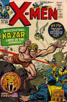 Cover for The X-Men (Marvel, 1963 series) #10