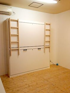 Cama Murphy, Murphy Bunk Beds, Bunk Bed Plans, Bunk Bed Rooms, Kids Bunk Beds, Space Saving Furniture, Diy Furniture, Kids Bed Design, Resource Furniture