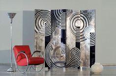 art deco design | 20th Century Art Deco Antiques Atelier Algier Paravent Screen Design ...
