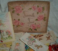Vintage greeting cards  60s   get well  best by NewtoUVintage, $10.99
