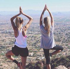 yoga can be done anywhere!
