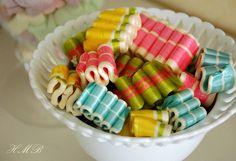I love ribbon candy