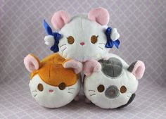 Hamtaro Friends - Tsum Tsum Style Stackable Plush by SuperKawaiiStudios