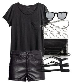 """""""Untitled #16279"""" by florencia95 ❤ liked on Polyvore featuring STELLA McCARTNEY, H&M, Balenciaga, ASOS and Ray-Ban"""