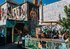 A new outdoor drinking spot in Fitzroy that's more relaxed, and smaller, than its older sibling.