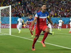 Ghana 1 USA 2 : Clint Dempsey strikes early to give USA the perfect start to their World Cup