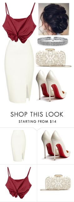 """538"" by francescas22 on Polyvore featuring Christian Louboutin, Oscar de la Renta and Bling Jewelry"