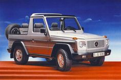 Mercedes-Benz G-Class at how the G-Wagen went from military off-roader to luxury SUV Mercedes Benz Forum, Mercedes Benz G Class, Mercedes Benz Cars, Classic Mercedes, Toyota Trucks, Benz S, Luxury Suv, Zoom Zoom, Tamiya