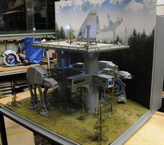 Imperial outpost on Endor