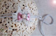 Analytical Haarband Baby & Kider Weiß Baby Accessories Hair Accessories Rosa Blume Kopfband Stirnband Taufe Fest N99