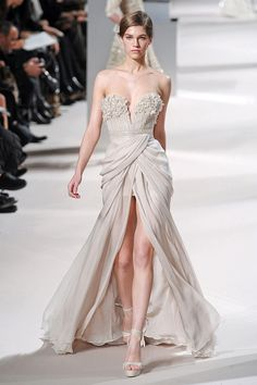 WEDDING DRESS MONDAY  ELIE SAAB SPRING/SUMMER 2011 COLLECTION | Peonies & Pearls - The Ultimate UK Wedding & Lifestyle Blog