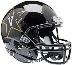 VANDERBILT COMMODORES Schutt AiR XP Full-Size REPLICA Football Helmet (BLACK) by Unknown. VANDERBILT COMMODORES Schutt AiR XP Full-Size REPLICA Football Helmet (BLACK).