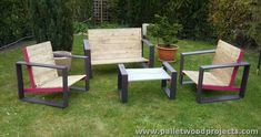 Pallet Recycling Ideas for Patio