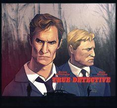 True Detective by Ignacio RC www.ignaciorc.com #true#detective#illustration#hbo#rust#cohle