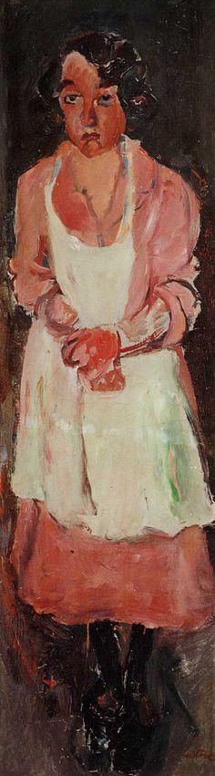 Chaïm Soutine - The Chambermaid  1937