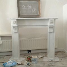 La PéCule Restyling @ home met #anniesloanchalkpaint #purewhite #home #painteverything 🎨🖌