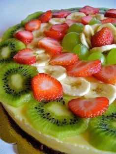 Cheesecake alla crema di mascarpone&frutta, Ricetta Petitchef