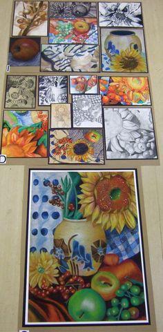 The     best Best sketchbook ideas on Pinterest   Flower     Hibiscus Painting   Hibiscus Mosaic Watercolor by Nancy Hartson Miller   Watercolor ArtWatercolor FlowersGlue